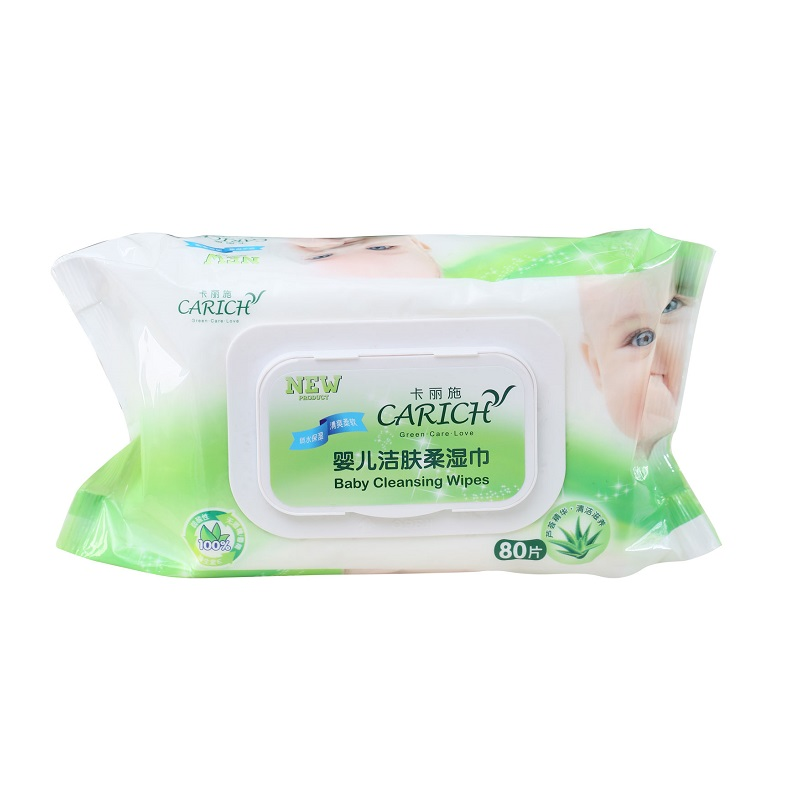 Carich Baby Cleansing Wipes
