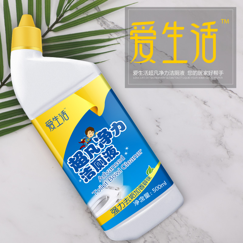 iLiFE Advanced Toilet Bowl Cleaner(500ml*24)